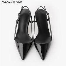 <b>JIANBUDAN</b> Summer sexy women's high heels 2019 Elegant ...