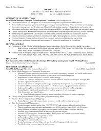 resume  qualification resume sample  moresume co    qualification resume sample smlf