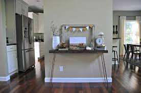 Console Table Fall Decorations