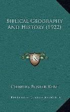 kent charles foster the historical bible