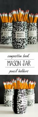 jar crafts home easy diy: cute diy mason jar ideas composition book mason jar fun crafts creative room