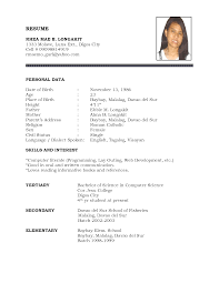 Biodata Resume Sample. canadian resume sample format canadian cv ... resume biodata resume sample chaosz