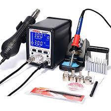 <b>YIHUA 995D+</b> 2 in 1 Hot Air Rework and <b>Soldering Iron</b> Station ...