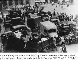 """Résultat de recherche d'images pour """"image exode juin 1940"""""""