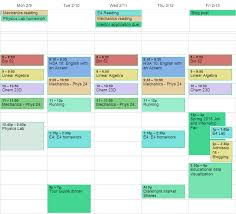 second semester freshman year sp harvey mudd college my schedule this semester 8 ams every day