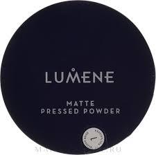 Lumene <b>Matte</b> Pressed Powder - Компактная матирующая <b>пудра</b> ...