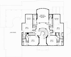 Marcello House Plans   Home Plans By Archival DesignsSouthern Luxurious Colonial House Plan Marcello Second Floor Plan