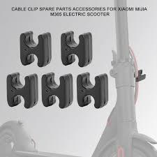 <b>5Pcs</b> Cable Clip Spare Parts Accessories for <b>Xiaomi Mijia</b> M365 ...