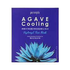 <b>Гидрогелевая маска с</b> агавой Petitfee Agave Cooling Hydrogel ...