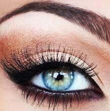 Risultati immagini per trucco occhi azzurri immagini
