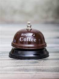 """<b>Звонок настольный</b> """"<b>Ring</b> for a Coffe"""" <b>ЭВРИКА</b> подарки и ..."""