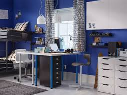 a bedroom for twins furnished with two desks combined with drawer units on castors and a amazing choice home office gallery office furniture