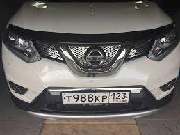 <b>Дефлектор капота KE6104C000</b> — <b>Nissan</b> X-Trail, 2.0 л., 2016 ...