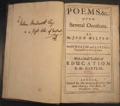 milton and the critics the reception of paradise lost william wordsworth s copy of miltons poems 1673