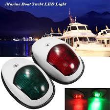 <b>2Pcs</b> 10V-30V Universal <b>ABS LED</b> Navigation <b>Light</b> Lamp Signal ...