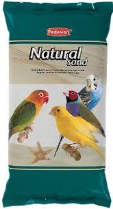 <b>Padovan</b> Natural <b>Sand</b> Кварцевый <b>наполнитель</b> для птиц в ...