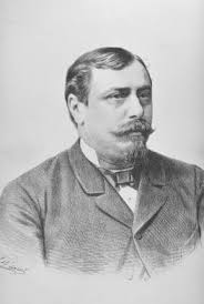 Franz Berger. Lithographie von F. Würbel, 1890. - Berger,_Franz1