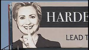 Image result for hillary clinton, + shhh