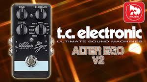 <b>TC ELECTRONIC</b> ALTER EGO V2 гитарная <b>педаль эффектов</b> ...