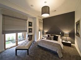 modern bedroom concepts: modern bedroom design ideas luxurious and modern bedroom with rich wood furniture black rug and white