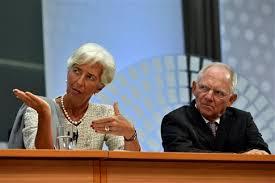 Αποτέλεσμα εικόνας για Σόιμπλε με το ΔΝΤ