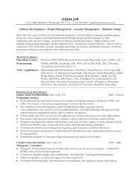 software developer resume getessay biz software developer by sampleresume inside software developer resume