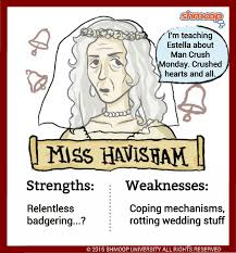 miss havisham in great expectations click the character infographic to pip s great expectations