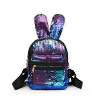 Wholesale Black <b>Rabbit</b> Bag Backpack
