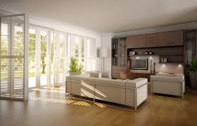chic large wall decorations living room: large wall decor ideas white leather sofa white iron sofa frame brown plywood entertainment center