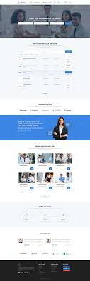 best ideas about job portal website layout food corporate website design