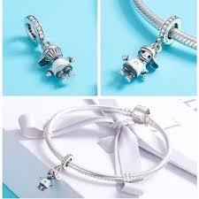 fit pandora bracelet 925 sterling silver cute bee elephant unicorn animal charm women family tree fairytale castle beads jewelry