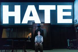 same fears different century stage adaptation of orwell s  matthew spencer as winston smith in a r t s 1984 courtesy manuel