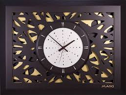 Деревянные <b>настенные часы Mado</b> MD-603 купить по выгодной ...