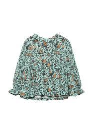 <b>Блуза Fleur de Vie</b> купить за 470 ₽ в интернет-магазине Lamoda.ru
