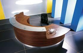 furniture walnut office desk cool blue curved office desk dividers