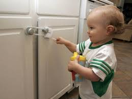 Baby Proof Kitchen Cabinets Best Child Proof Cabinet Locks Joannerowe