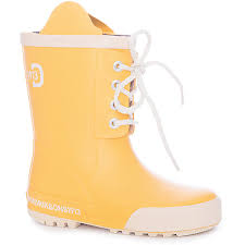 Резиновые сапоги Didriksons1913 Splashman желтого цвета ...