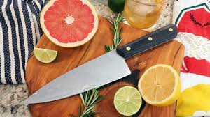 BRNLY Nita: <b>7</b>-<b>inch Chef Knife</b> by Burnley Design — Kickstarter