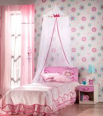 flowery wallpaper brings in a sense of freshness to the pink setting bedroom compact blue pink