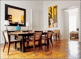 chair dining tables room contemporary: dining roomenjoyable modern dining rooms design inspirations with wooden dining table and black padded furniture