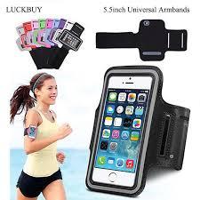 <b>LUCKBUY</b> Armband For Size 4.5'' 5.0'' 5.5 Inch Sports Jogging Bag ...