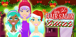 <b>Girls</b> Hair Salon <b>Christmas</b> - Hairstyling for kids - Apps on Google Play