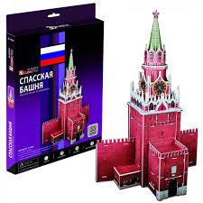 Купить <b>Cubic Fun</b> C118h Кубик фан <b>Спасская башня</b> - цена в ...