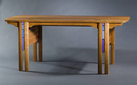 charles rennie mackintosh and glasgow style inspired high end custom made office desk custommade custom office