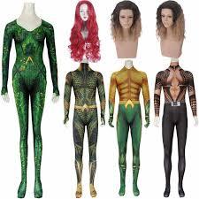Adult Women Men Movie Justice League <b>Aquaman Arthur Curry</b> ...