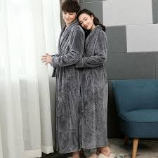 Men <b>Autumn and Winter Thickening</b> and Long Section Coral Fleece ...