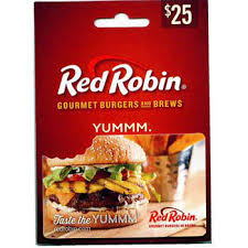 $25 Red Robin Gift Card - BJs WholeSale Club