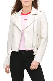 <b>Levi's</b>® <b>Faux Leather</b> Fashion Belted Moto Jacket | Nordstrom