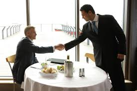 etiquette for lunch and dinner job interviews