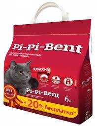 <b>Pi</b>-<b>Pi</b>-<b>Bent Классик</b> наполнитель для кошачьего туалета ...